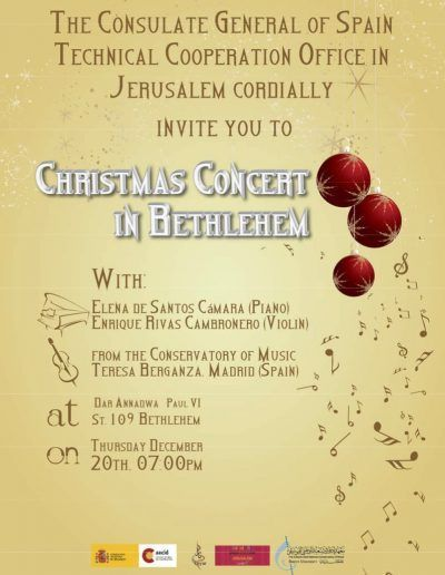 Concierto Bethlehem (Palestina)