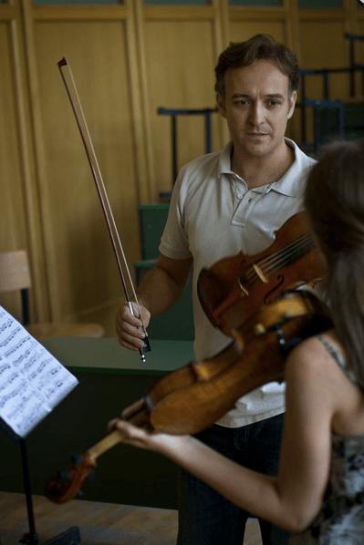 Clases en Sighisoara (Rumanía)
