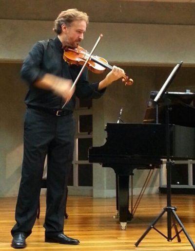 Sonata para violín solo de J. J. Vylsmair